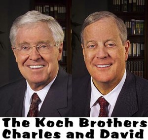 Paying for influence which should be feared most the for Charles und david koch