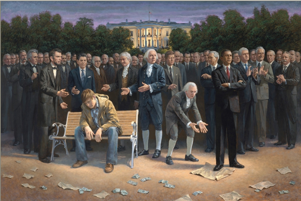 """The Forgotten Man,"" by Jon McNaughton"