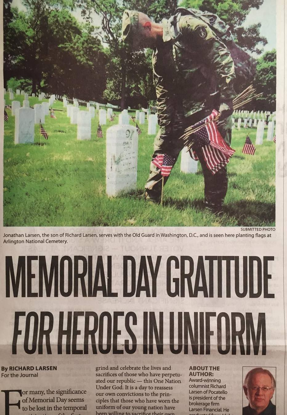 Memorial Day Column Pic