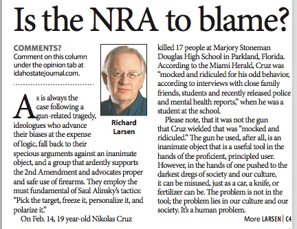 660a-Is the NRA to Blame?